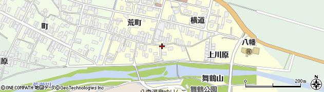 山形県酒田市麓荒町13周辺の地図