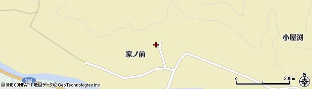 山形県酒田市北青沢家ノ前67周辺の地図