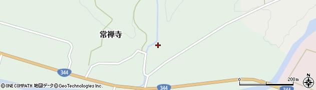山形県酒田市常禅寺沢ノ内周辺の地図
