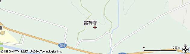 山形県酒田市常禅寺上野山周辺の地図