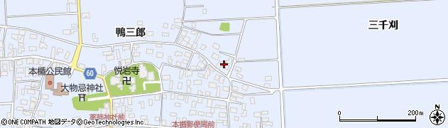 山形県酒田市本楯杉ノ崎53周辺の地図