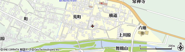 山形県酒田市麓横道30周辺の地図