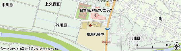 山形県酒田市小泉前田91周辺の地図