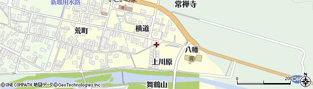 山形県酒田市麓上川原6周辺の地図