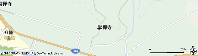 山形県酒田市常禅寺上野山8周辺の地図