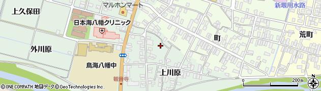 山形県酒田市小泉上川原54周辺の地図