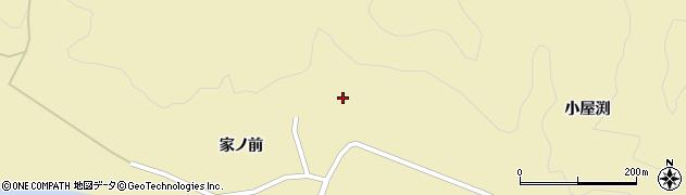 山形県酒田市北青沢家ノ前186周辺の地図