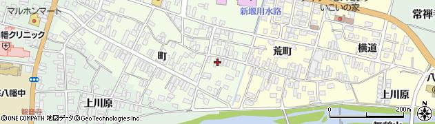 山形県酒田市観音寺町43周辺の地図