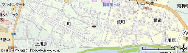 山形県酒田市観音寺町44周辺の地図