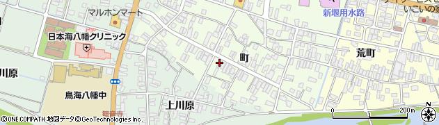 山形県酒田市観音寺町134周辺の地図