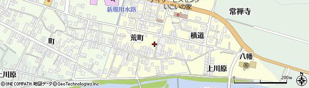山形県酒田市麓荒町55周辺の地図