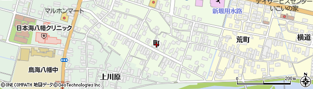 山形県酒田市観音寺町70周辺の地図