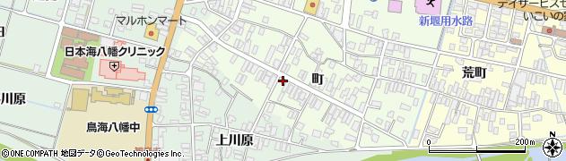 山形県酒田市観音寺町133周辺の地図