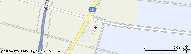 山形県酒田市穂積沖田周辺の地図