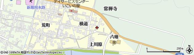 山形県酒田市麓横道16周辺の地図