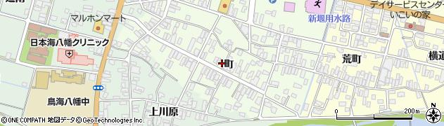 山形県酒田市観音寺町72周辺の地図