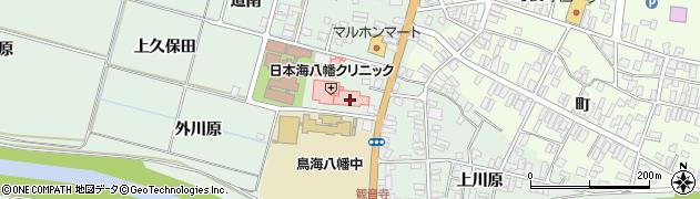 山形県酒田市小泉前田周辺の地図
