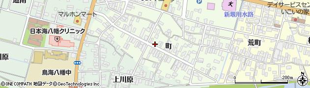 山形県酒田市観音寺町79周辺の地図