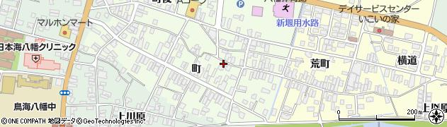 山形県酒田市観音寺町33周辺の地図
