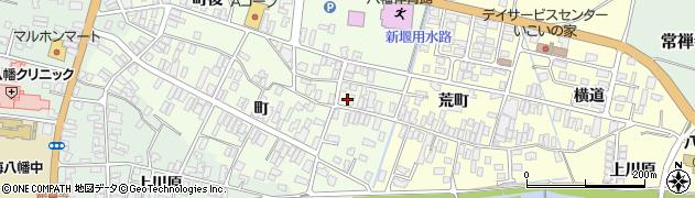 山形県酒田市観音寺町11周辺の地図