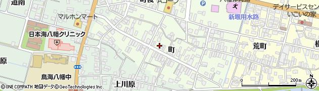 山形県酒田市観音寺町78周辺の地図