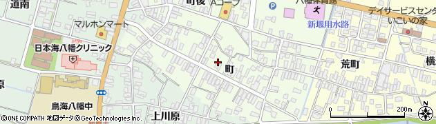 山形県酒田市観音寺町周辺の地図