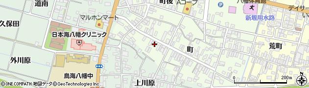 山形県酒田市観音寺町125周辺の地図
