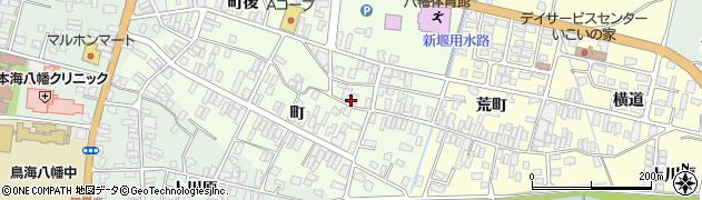 山形県酒田市観音寺町20周辺の地図