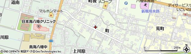 山形県酒田市観音寺町82周辺の地図
