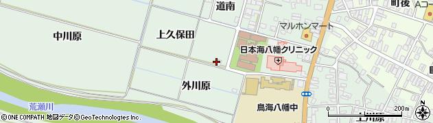 山形県酒田市小泉上久保田周辺の地図