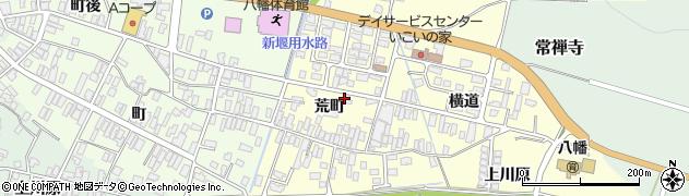 山形県酒田市麓荒町69周辺の地図