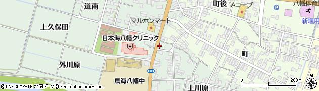 山形県酒田市小泉前田113周辺の地図