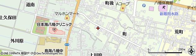山形県酒田市観音寺町123周辺の地図