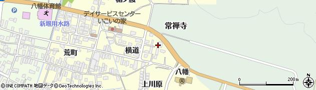 山形県酒田市麓横道8周辺の地図