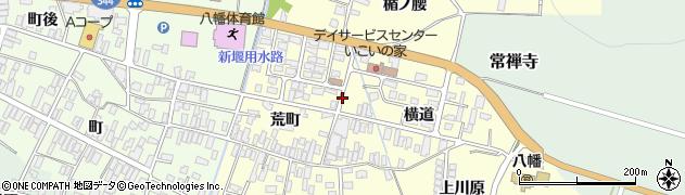 山形県酒田市麓横道20周辺の地図