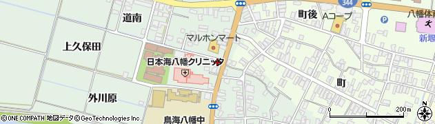 山形県酒田市小泉前田33周辺の地図