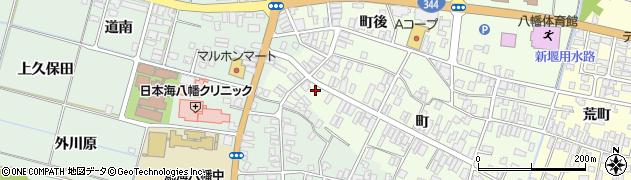 山形県酒田市観音寺町119周辺の地図