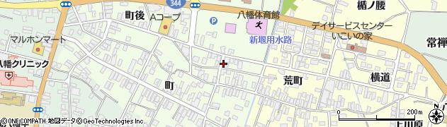 山形県酒田市観音寺町後59周辺の地図
