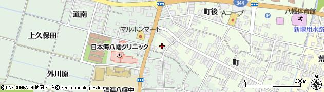 山形県酒田市観音寺町111周辺の地図