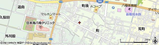 山形県酒田市観音寺町91周辺の地図