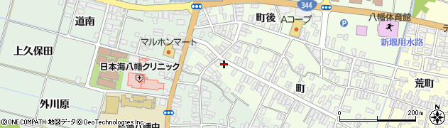 山形県酒田市観音寺町118周辺の地図