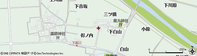 山形県酒田市大豊田侭ノ内10周辺の地図
