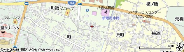山形県酒田市観音寺町後9周辺の地図