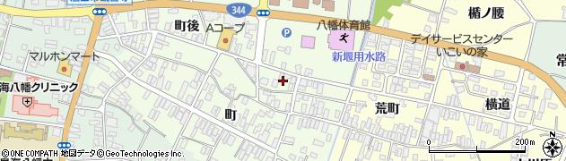 山形県酒田市観音寺町後62周辺の地図