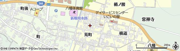 山形県酒田市麓荒町58周辺の地図