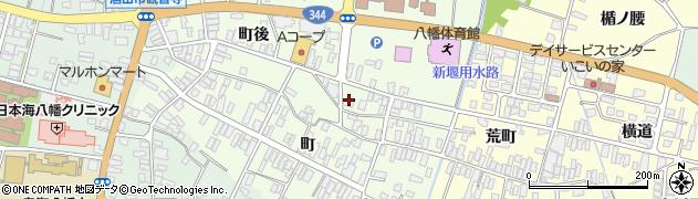 山形県酒田市観音寺町後70周辺の地図