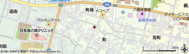 山形県酒田市観音寺町85周辺の地図