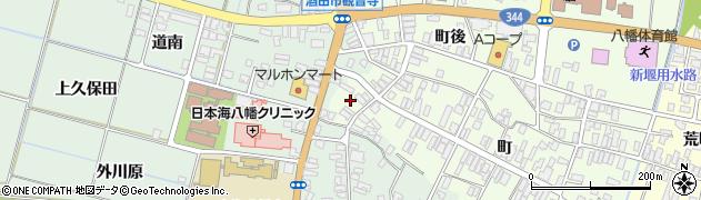 山形県酒田市観音寺町108周辺の地図