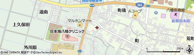山形県酒田市観音寺町107周辺の地図