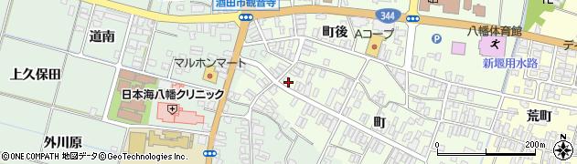 山形県酒田市観音寺町96周辺の地図